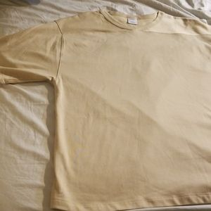 NWOT Urban Outfitters Pale Gold Tee